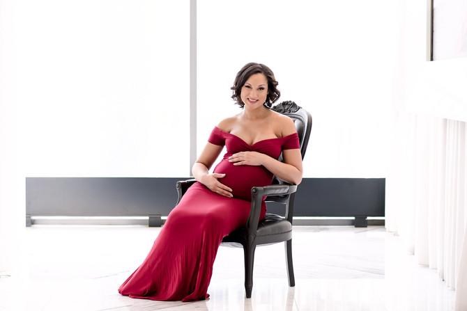 Toronto West / Mississauga East Photographer | Shamarra and Teryn Await Baby Girl | Toronto Maternit