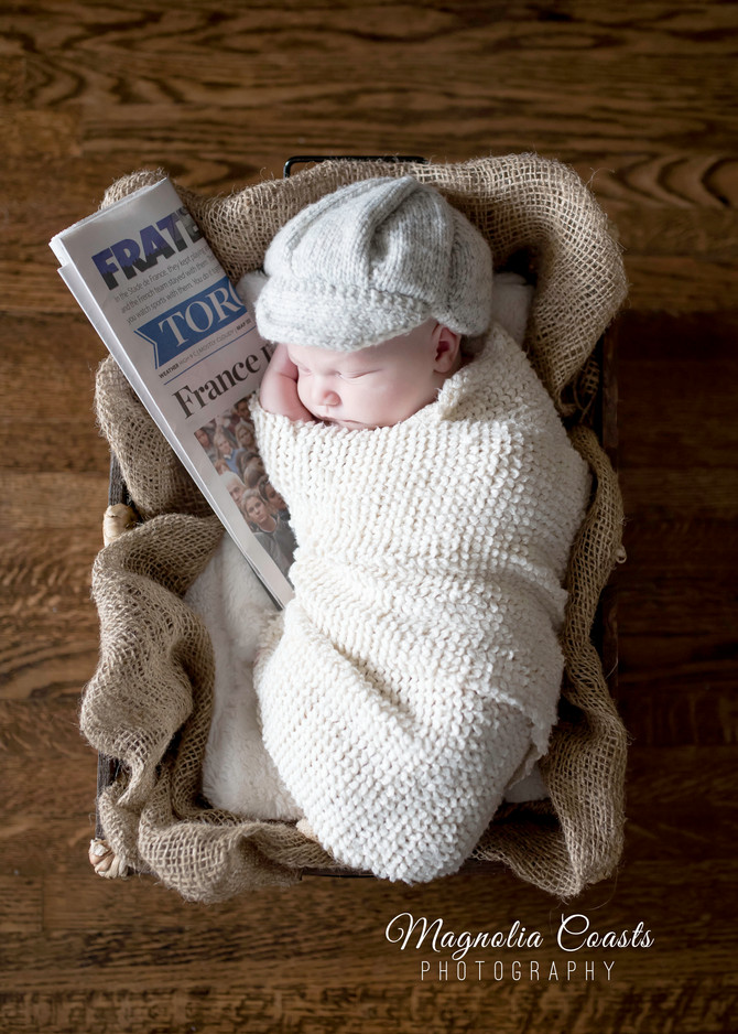 Toronto West / Mississauga East Photographer | Baby Logan at 7 Days