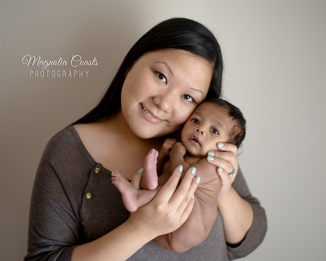 Toronto West / Mississauga East Photographer | Baby Kellon at two months
