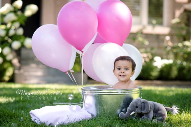 Toronto West / Mississauga East Photographer   Sweet Baby Nyla is ONE!   Cake Smash