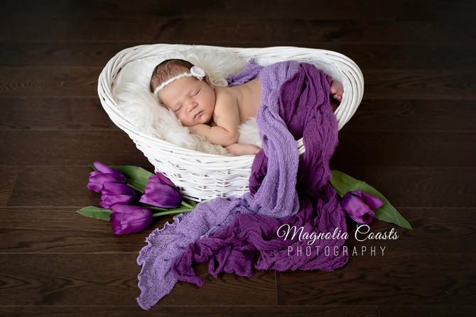 Toronto West / Mississauga East Photographer | Baby Alexandra at 6 days | Newborn