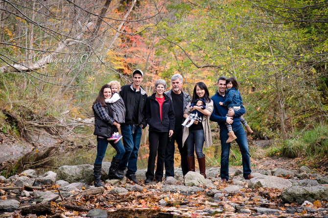 Toronto West / Mississauga East Photographer | Edward Gardens in the Fall | Generations Session