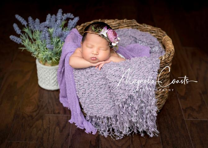 Toronto West / Mississauga East Photographer | Sleepy Baby Mila at 7 days | Toronto Newborn