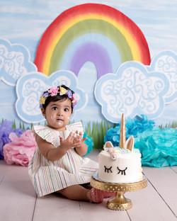 Cake Smash Siara - Kripa & KanakDSC_5191-Edit.jpg