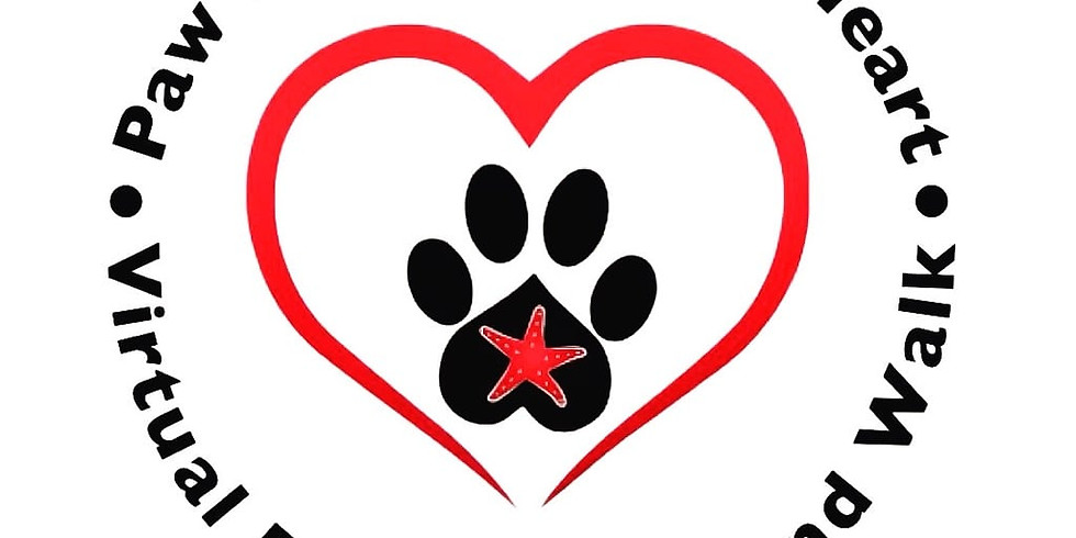 Virtual 5k Paw Prints on Your Heart