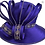 Thumbnail: Women's Wedding Dressy church Satin Ribbon Couture Hat