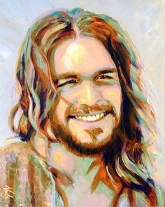 """Laughing Jesus"""