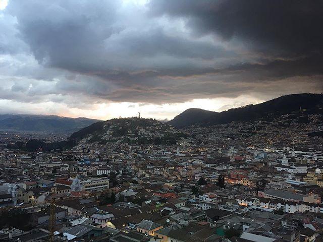 Gracias por todo, Quito. #ecuadorkable