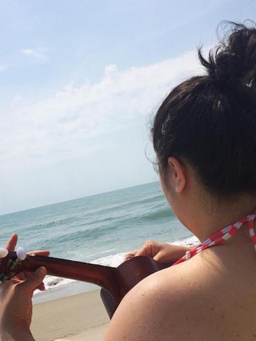 ukulele skills: self-taught and very meh