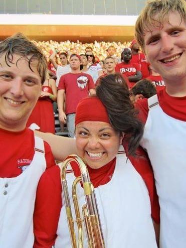 Razorback Marching Band 2012