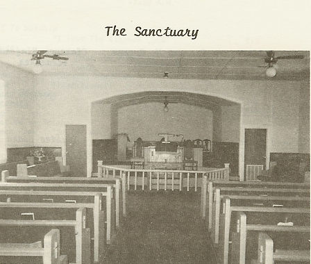 Sanctuary of Webb Chapel