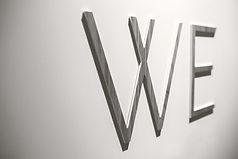 We Muur Letters