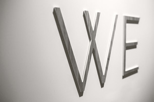 We Wall Letters