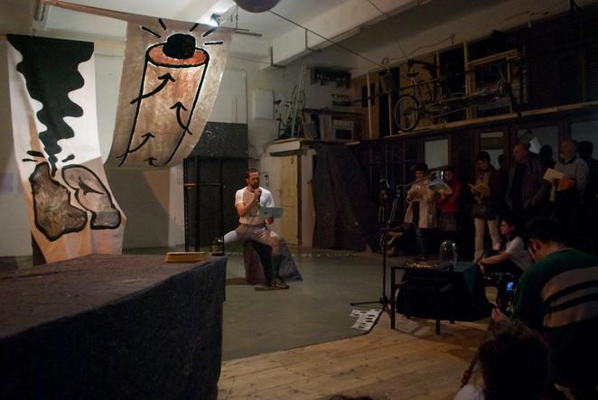 FUCK KARMA exhibition & performance // live event at @LabPietra