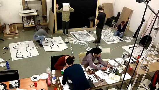 Workshop - Education - Poster Art - Drawing - Street Art - Urban Art - Installations • Laboratorio Artistico Pietra