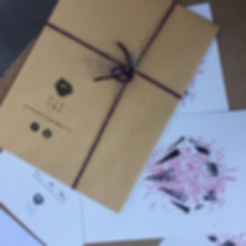 n. 100 live hand-screenprinted lottery ticket at @BalonTorino to win our artworks for Christmas!