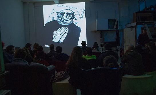 Projections - Cineforum - Workshops - Events - Exhibition • Laboratorio Artistico Pietra