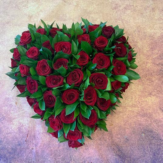 Funeral Wreaths, Hearts + Cushions 019