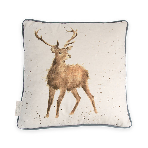 """Wild at Heart"" cushion"