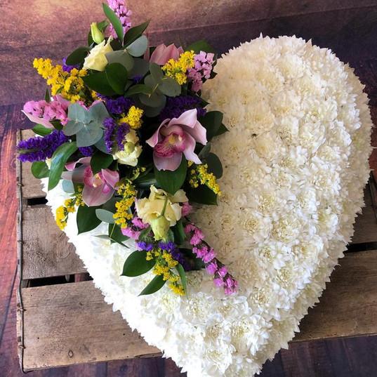 Funeral Wreaths, Hearts + Cushions 014