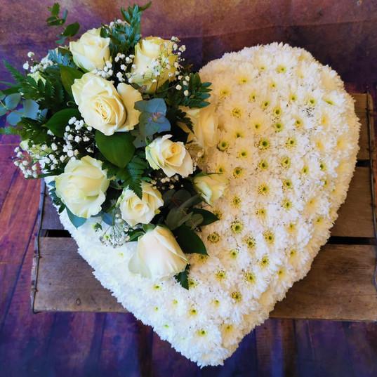 Funeral Wreaths, Hearts + Cushions 026