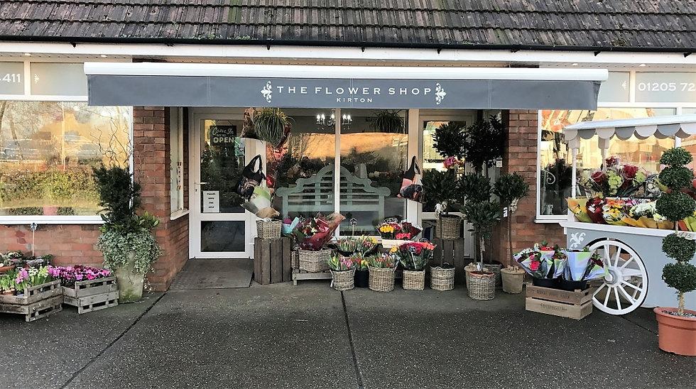 The Flower Shop Kirton Shop Front