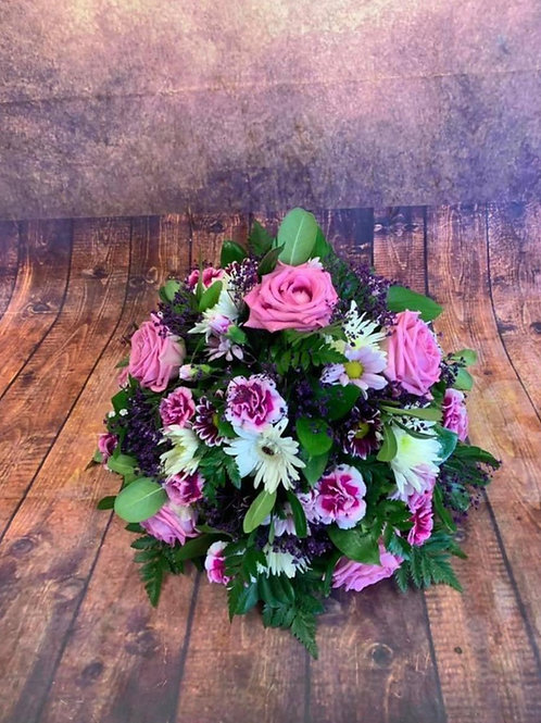 Mixed Flower Funeral Posy Example 1 Free delivery from the flower shop kirton
