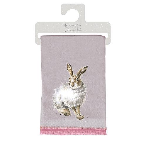 """Mountain Hare"" winter scarf"
