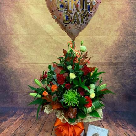 happy birthday aqua flower bouquet.jpg