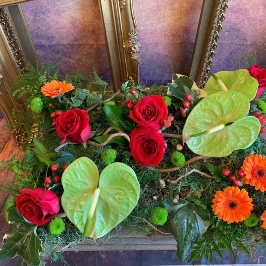 Funeral Wreaths, Hearts + Cushions 008