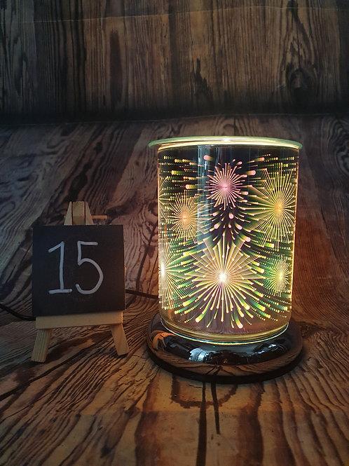 Cylinder 3d Colour Electric Wax Melt Burner Gift Set