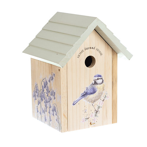 wrendale designs blue tit birdhouse Free delivery from the flower shop kirton