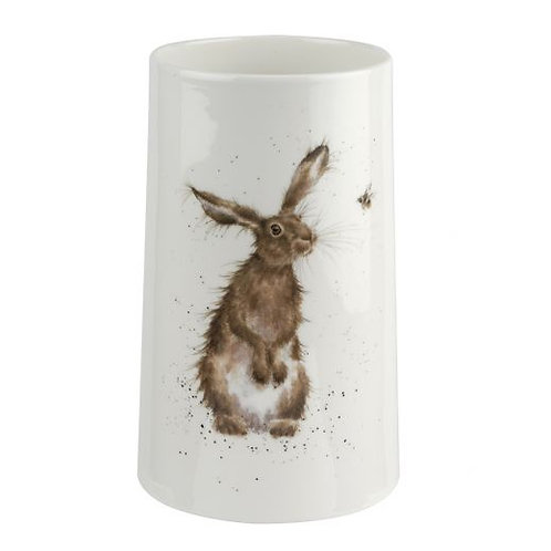 """""""Hare and the Bee"""" Medium Vase"""