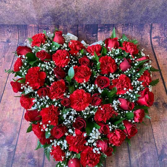 Funeral Wreaths, Hearts + Cushions 021