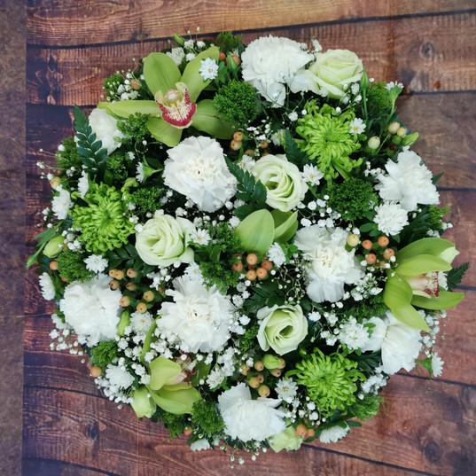 Funeral Wreaths, Hearts + Cushions 013