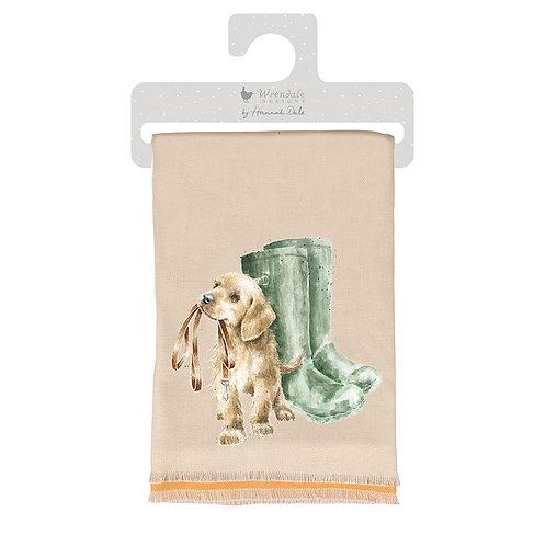 Wrendale Designs Hopeful winter scarf