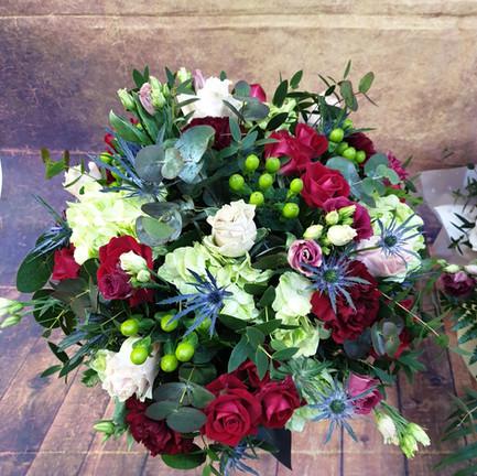 hatbox flower arrangement top view.jpg