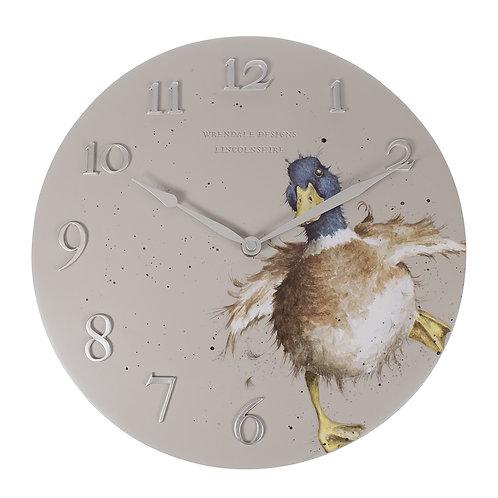 Wrendale Designs Duck Wall Clock