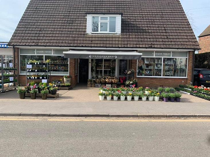 the flower shop kirton outside april 2021
