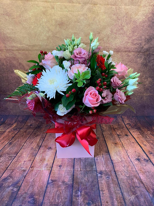 Round Aqua Bouquet Prices Start From