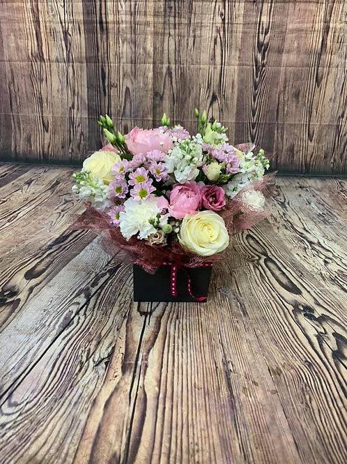 Mixed Summer Aqua Flower Bouquet