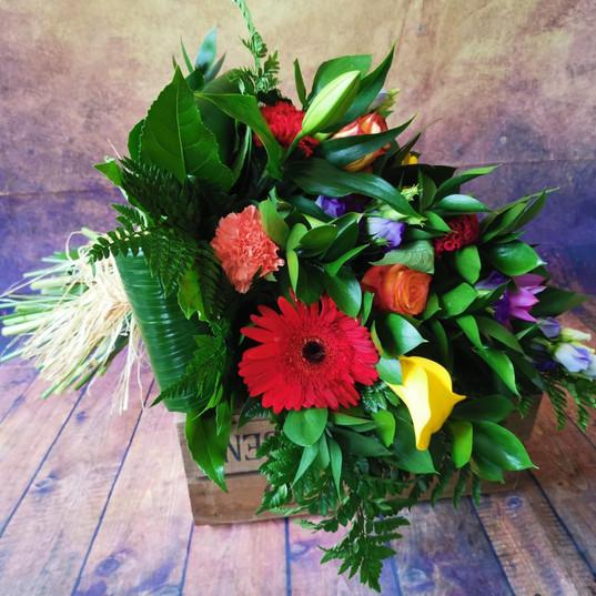 Funeral Wreaths, Hearts + Cushions 002