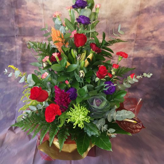 Flower Bouquets and Aquas 170