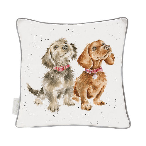 Wrendale Designs Treat Time Cushion Front