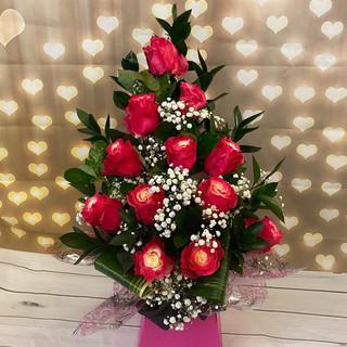 marshmallow Rose Bouquet 038