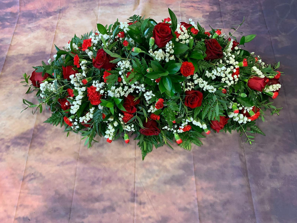 Double Ended Red Rose Coffin Spray Funeral Flower Tribute.jpg