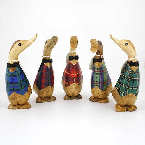 tartan waistcoat ducklings Free delivery from the flower shop kirton