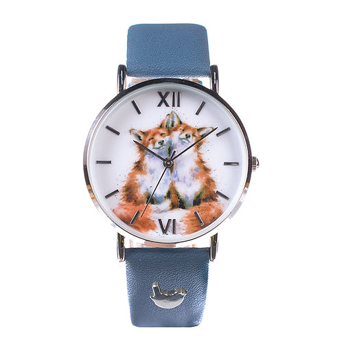 wrendale designs leather watch fox Free delivery from the flower shop kirton