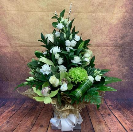 white and green tall aqua flower bouquet.jpg
