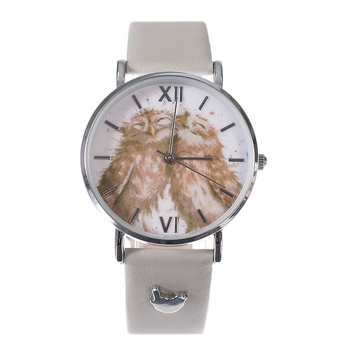 """""""Birds of a Feather"""" Leather Watch"""